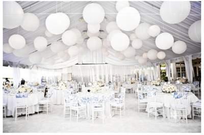 מסיבת חתונה לבנה - זר כלה