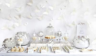 מסיבת חתונה לבנה - קינוחים