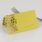 כרטיס הושבה מעוצב - סלין ואייל