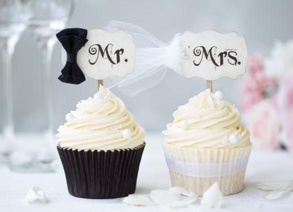 רעיונות עיצוב חתונה בשחור לבן