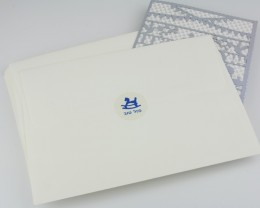 מדבקה מעוצבת למעטפה לברית